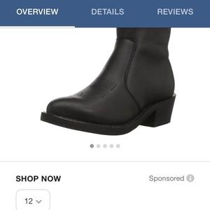 Other - Men's short cut dress boots